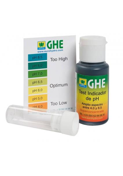 Medidor de PH TEST KIT GHE