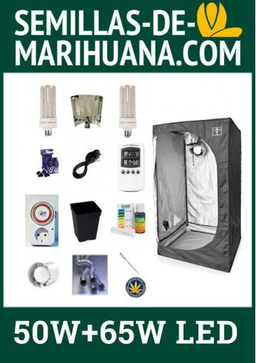 LED GROWING KIT WITH GROWROOM