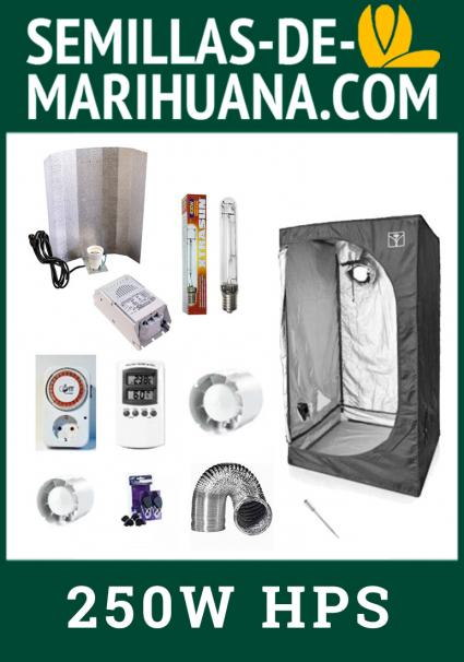 CHEAP 250W FULL GROWING KIT WITH CABINET