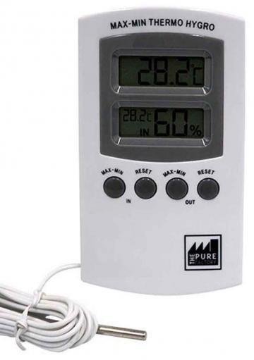 THERMO HYGROMETER WITH PROBE