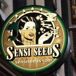 letrero sensi seeds bank