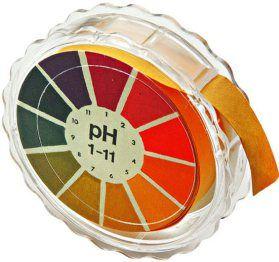 Ph medidor reactivo