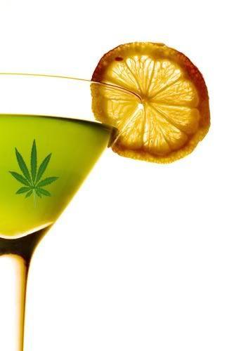 cocteles marihuana