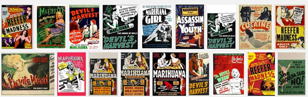 posters peliculas prohibicion cannabis