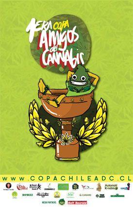 Copa Cannábica Chile ADC - Amigos del Cannabis