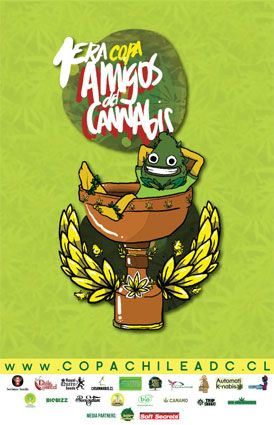 CopaCannábicaChileADC AmigosdelCannabis