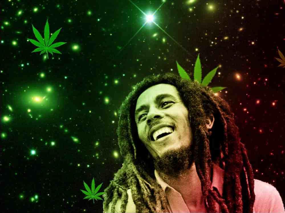 bob marley sobre la marihuana