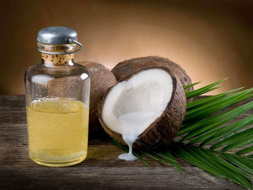 Receta fácil de aceite de coco cannábico