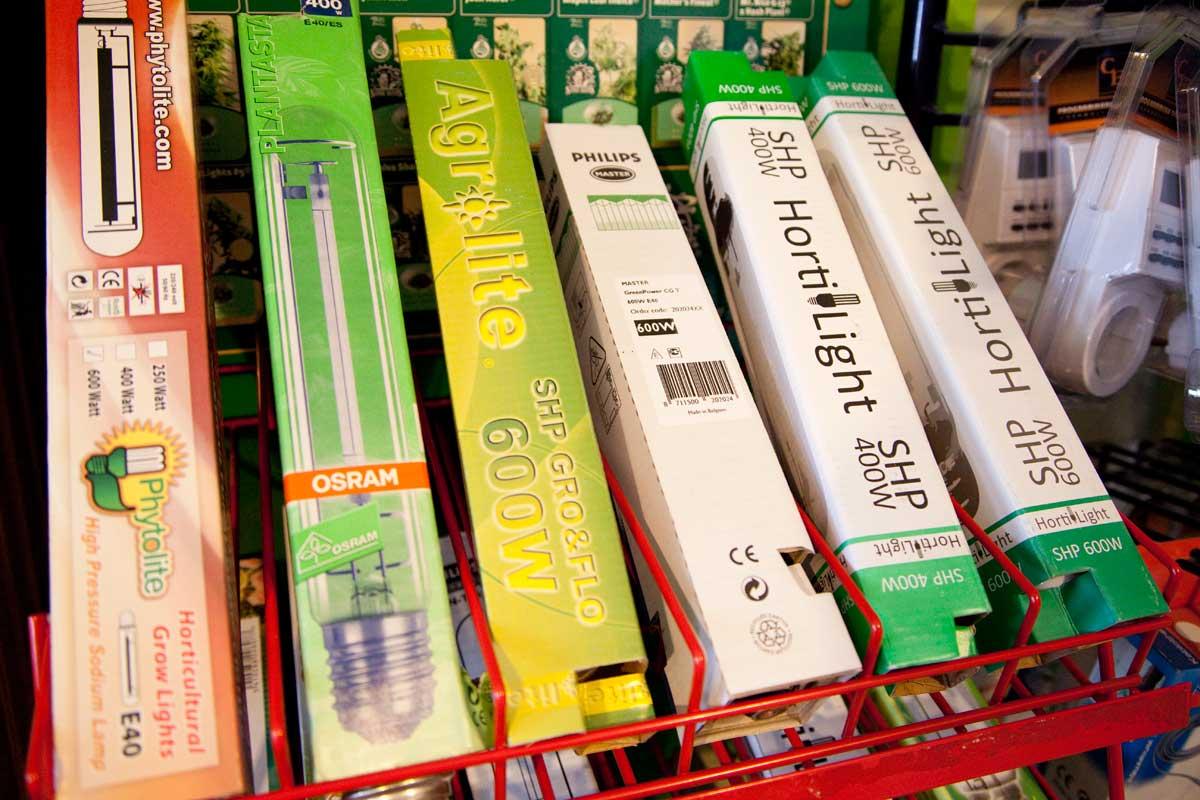 Claves para la iluminaci n del cultivo interior de marihuana for Bombillas cultivo interior