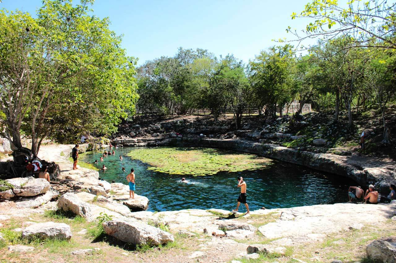 cenotes parque natural