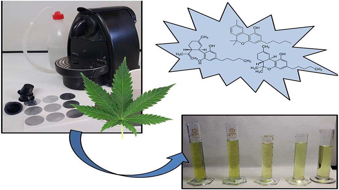 extracciones de marihuana con Nespresso