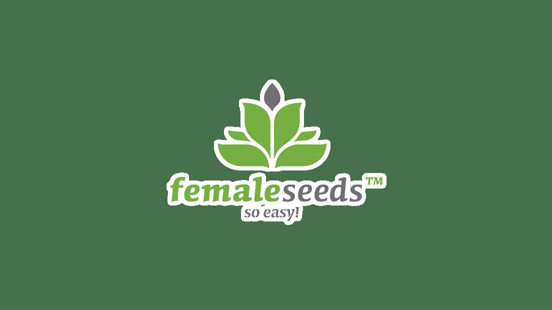 Female Seeds logotipo. Female Seeds es un banco de semillas feminizadas que leva abierto desde el años 2003