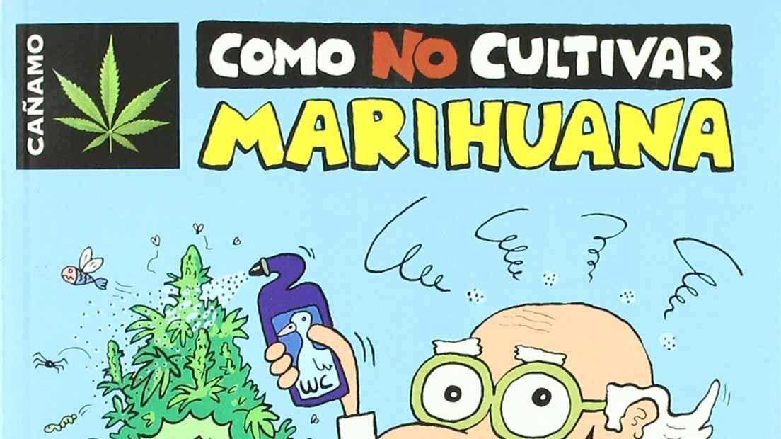 El humor también está presente en los libros sobre la marihuana.