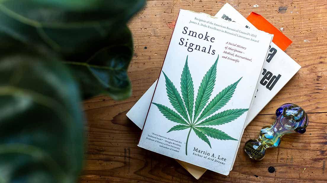 10 Libros sobre la Marihuana para el Confinamiento