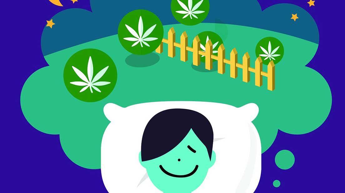 Dormir usando marihuana es posible si sabes cómo.