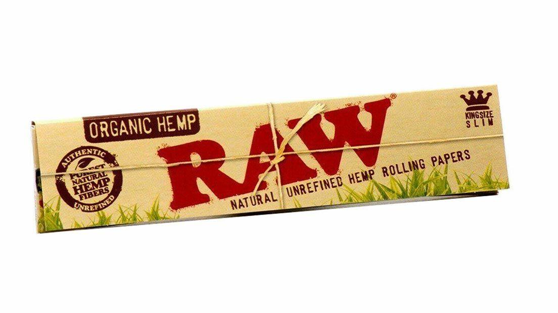 RAW es una de las marcas de papel de liar másconocidas.