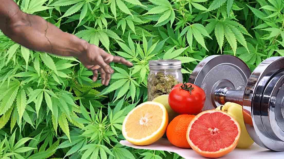 Es posible utilizar marihuana y pérdida de peso a la vez.