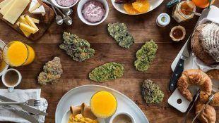 Maridar marihuana con comida es una forma estupenda de avivar el sabor de alimentos.