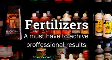 Cannabis fertilizers